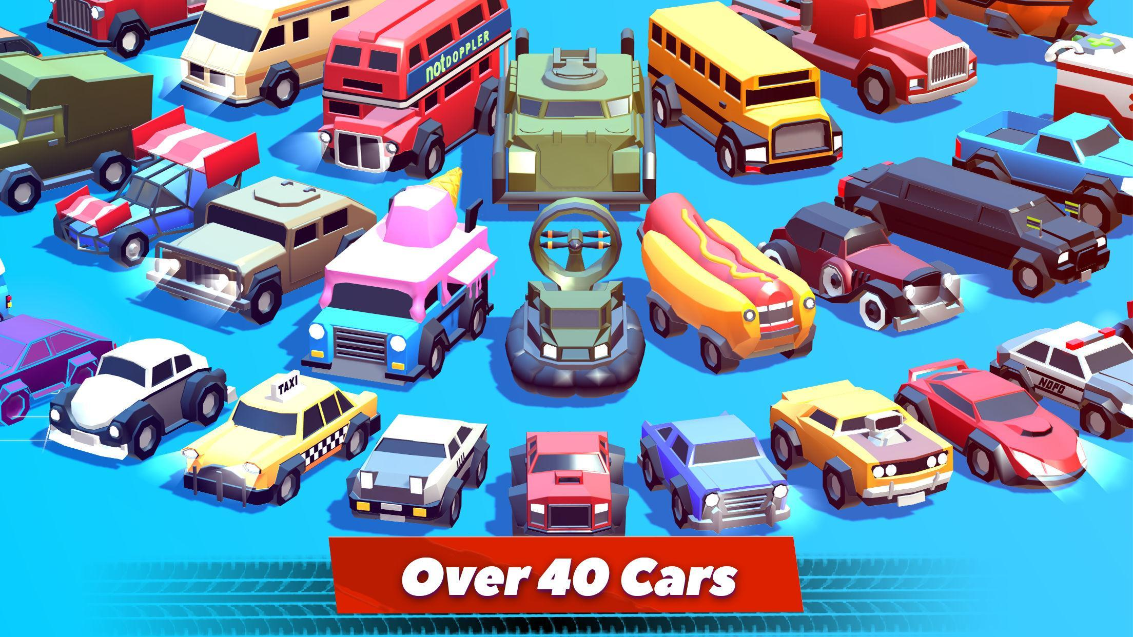 Crash of Cars Mod Apk (Unlimited Money/Gems/Health) Unlocked all Cars 2