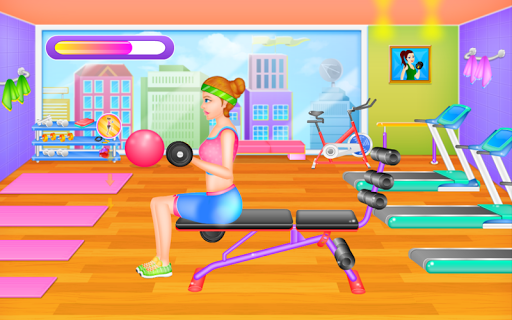Fit Girl - Workout & Dress Up for PC