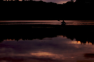 Photo: Kayak at dusk We were both taking advantage of the last light of the day.  #365project curated by +Susan Porter and +Simon Kitcher