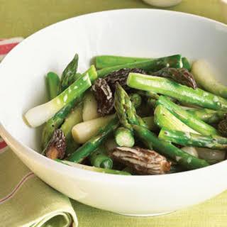 Asparagus Mushrooms Onion Saute Recipes.