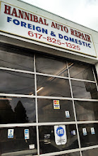Photo: Hannibal Auto Repair in Dorchester, MA proudly displaying their BBB Accreditation