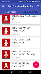 San Francisco Radio Stations - náhled
