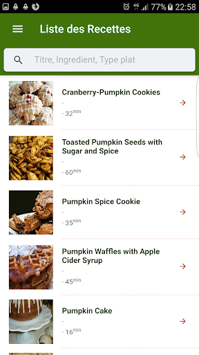 Halloween Recipes 1.0.1 screenshots 6