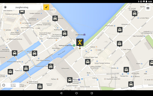 mytaxi – Fast & Secure Taxi Booking App screenshot 6
