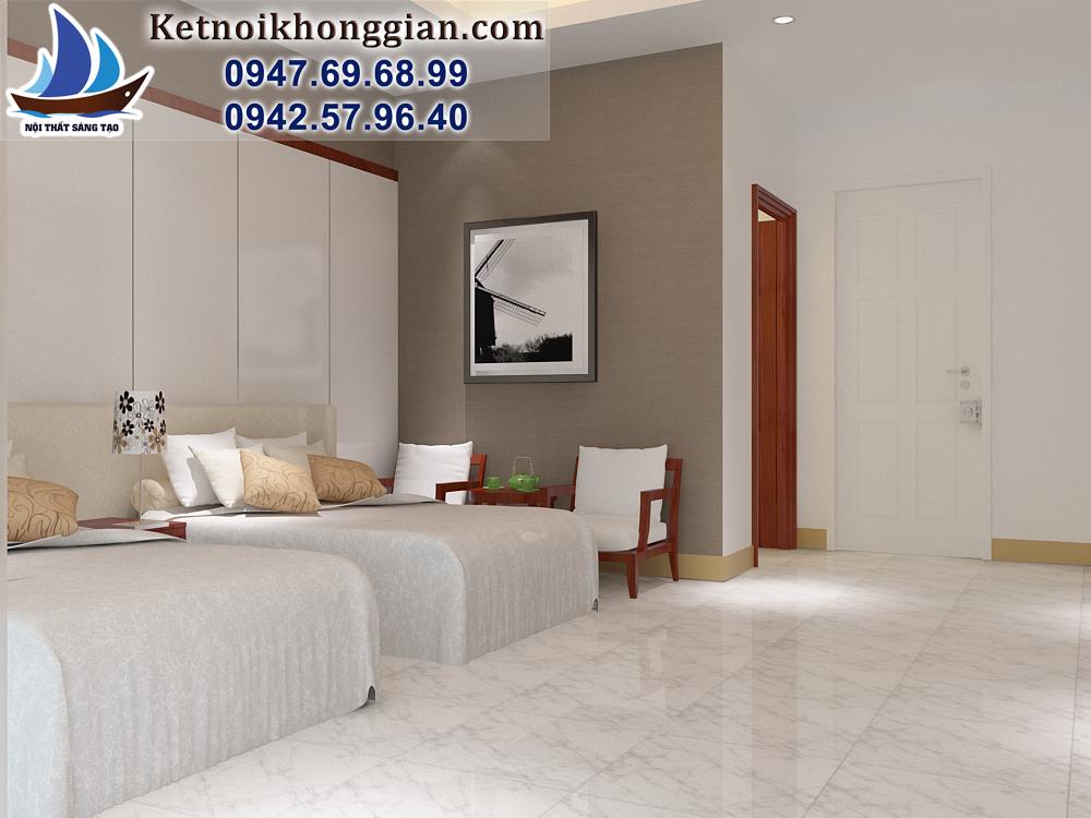 thiết kế phòng ngủ khách sạn chất lượng cao