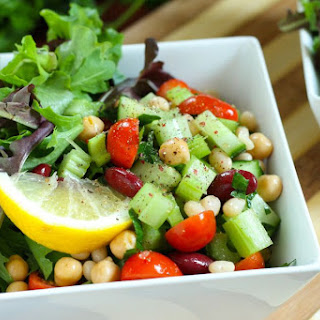 Middle Eastern 3-Bean Salad