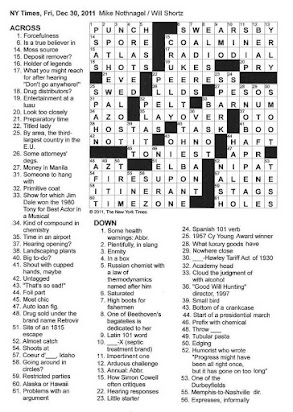 Spice Rack Item Crossword Clue