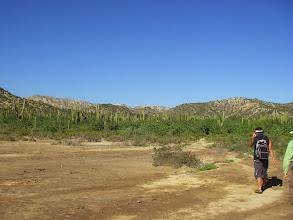 Photo: Nature walk on Isla San Jose