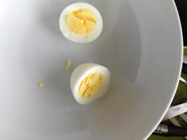 What The Perfect Hard Boiled Egg Looks Like.