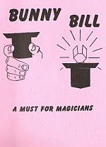 Photo: Bunny Bill Neale, Robert Chicago: Magic, Inc. 1964. Stiff Stapled Softcover. 26 pp.Booklet no ISBN One great model (plus some play money) in a small booklet; fold a top hat from a dollar bill, complete with pop-up bunny; a wonderful show piece model, and a must for magicians.