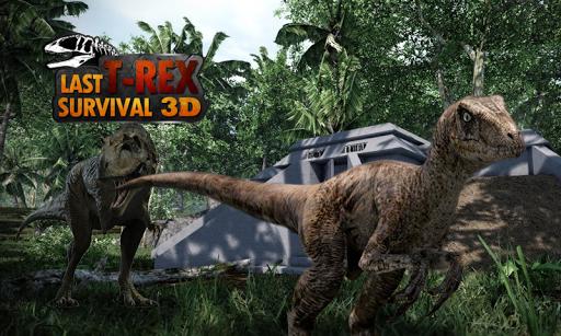 Last T-Rex: Survival 3D