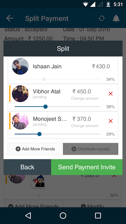 UPI App- Pay,Split & Earn- screenshot