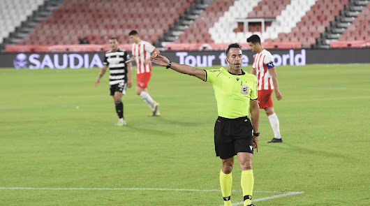 El árbitro para el Almería-Espanyol