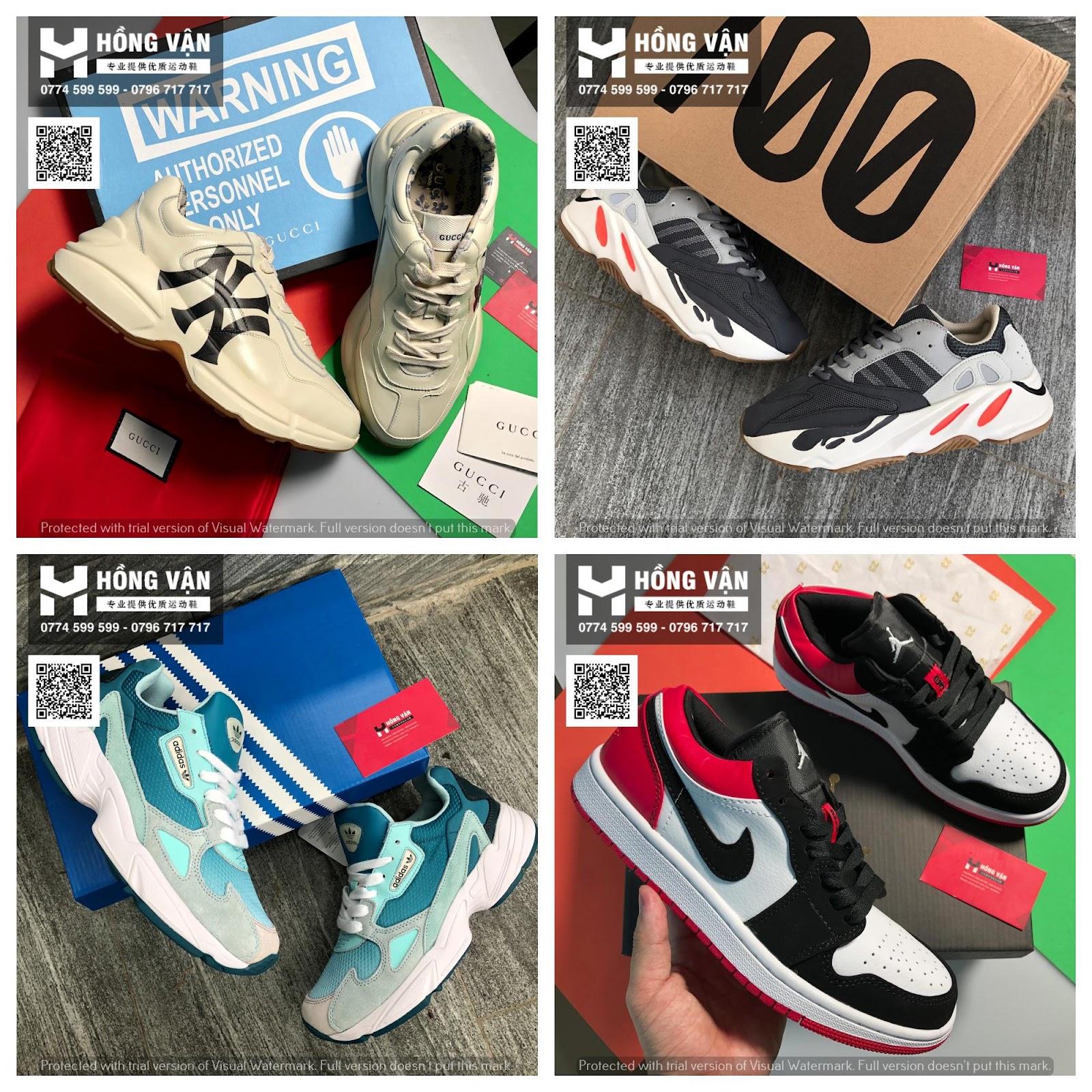 Hồng Vận - Tổng buôn sỉ giày thể thao chất lượng , uy tín ( hình thật - 2