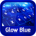 GO Keyboard Glow Blue icon