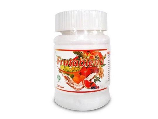Frutablend HWI kapsul buah sayuran pemutih NUTRISI tubuh dan kulit anti aging