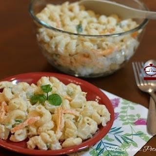 Macaroni and Potato Salad Recipe.