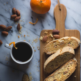 Almond Olive Oil Biscotti.