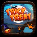 Trick or Treat GO Weather Widget Theme icon