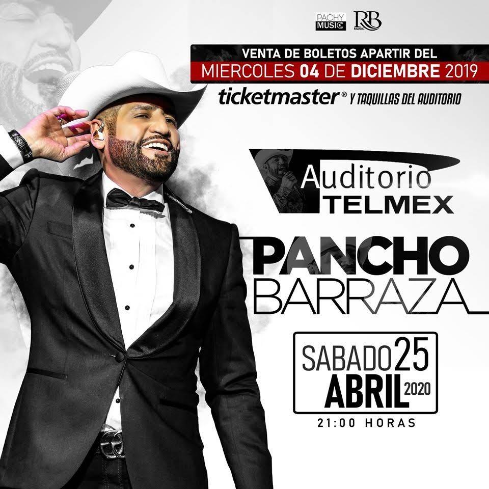 Pancho Barraza en gira tour 2020