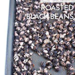 Mexican Spiced Roasted Black Beans.