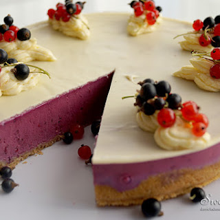 Unbaked Black Currant Tart