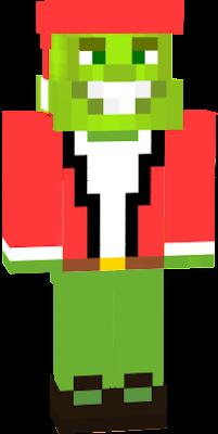 Smallishbeans (aka Joel) as the Grinch!