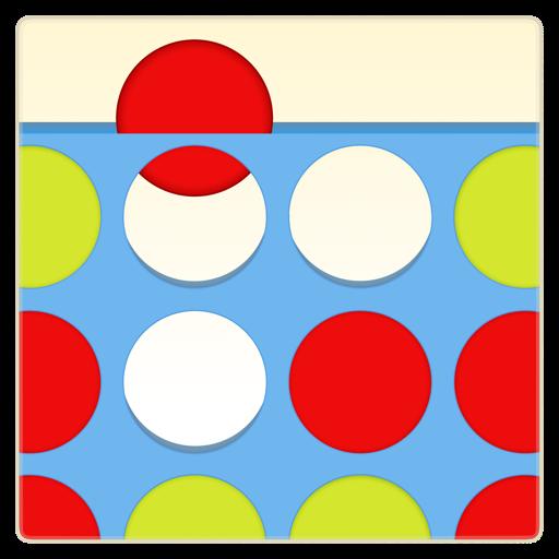 Four in a Row Puzzles 棋類遊戲 App LOGO-APP開箱王