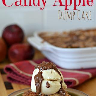 Candy Apple Dump Cake