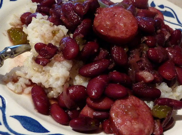 Cajun Red Beans And Rice With Sausage #Recipe 2