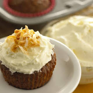 White Chocolate Goat Cheese Frosting.