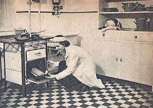 Photo: Ilyen ragyogó, tiszta mindig a konyhája, ha gázzal főz és kitt.