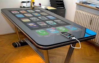 Photo: The Table Connect iPhone table - 02 Nov 2010...Mandatory Credit: Photo by Rex Features ( 1244135a )