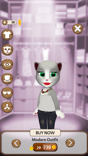 Talking Cat Lily 2 1.9.1 screenshots 15