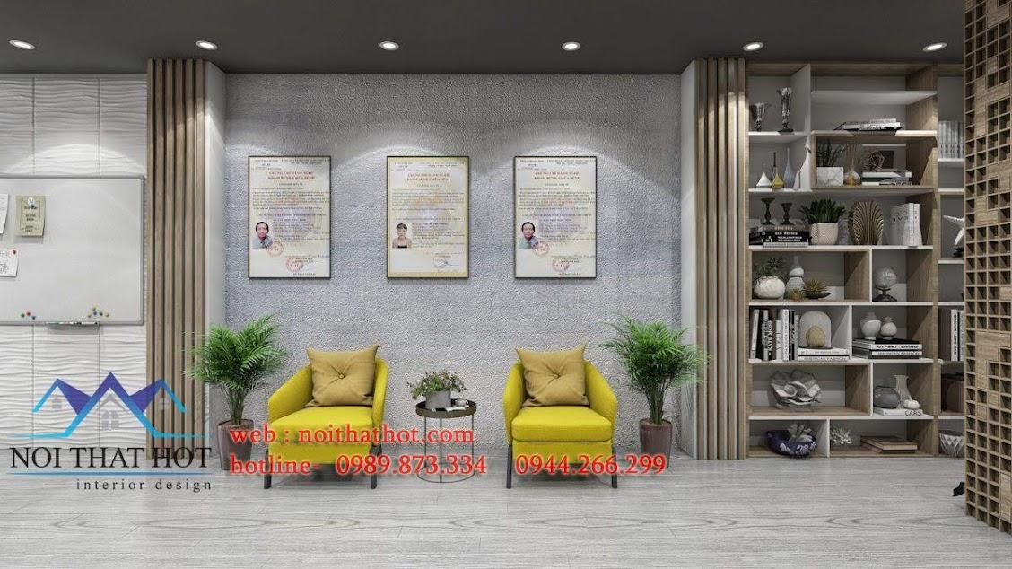 thiết kế phòng khám nha khoa thẩm mỹ cao cấp