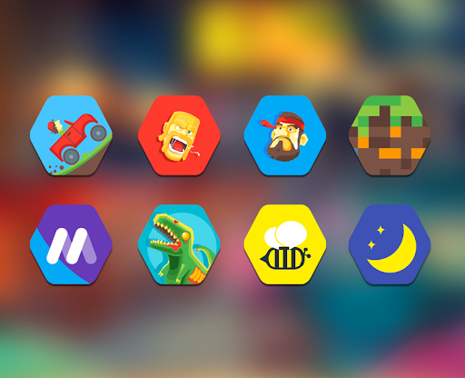 Exicon - Icon Pack App per Android screenshot