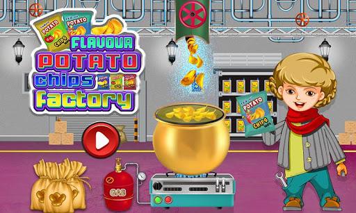 Potato Chips Factory Games - Delicious Food Maker 1.0.13 screenshots 1