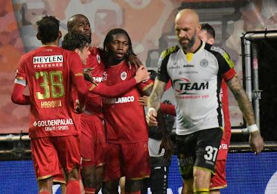 Antwerp won met 4-2 van Lokeren