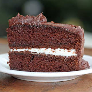 Brown Sugar Chocolate Cake.