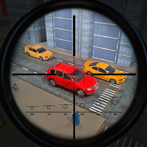 Traffic Sniper Elite Hunter: Battle War Hero