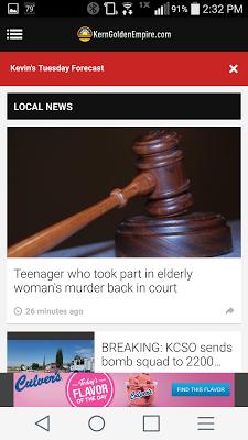 KGET 17 News - screenshot
