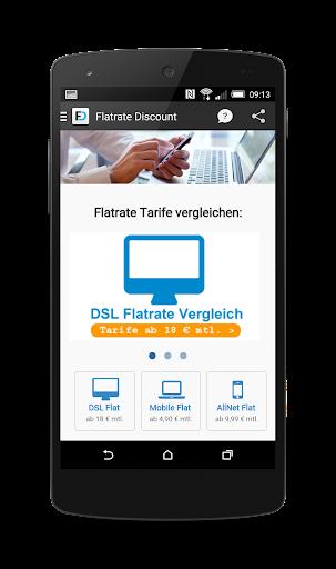 Flatrate Discount DSL Tarife