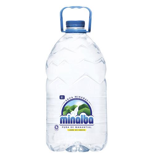 Agua Minalba Botella Pet 5 Lt