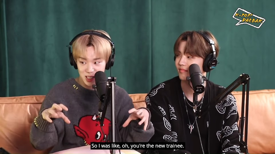 A.C.E's Byeongkwan and Chan Met Through Bang Chan of Stray Kids _ KPDB Ep. #85 Highlight 1-14 screenshot
