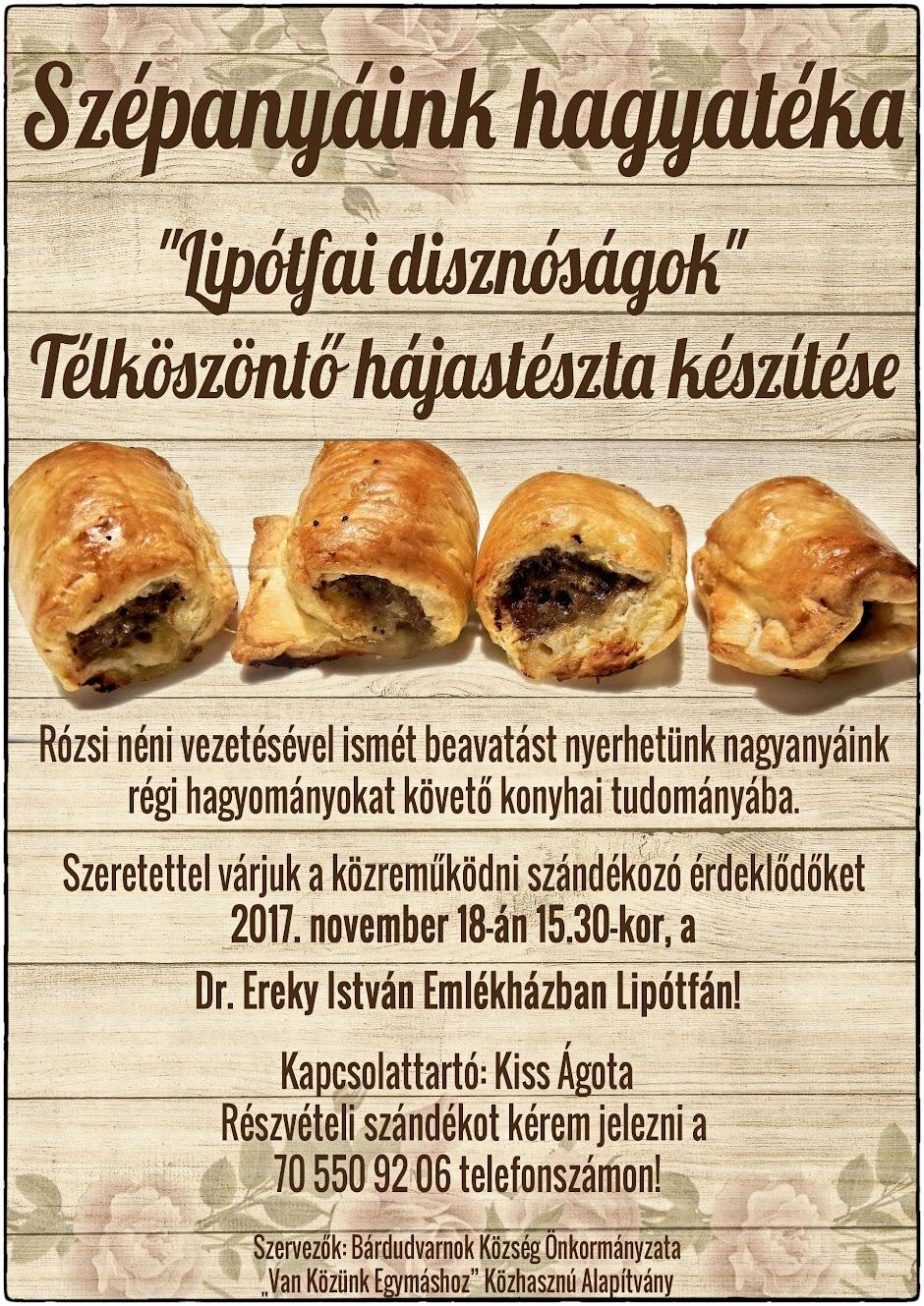 Lipótfa sütés