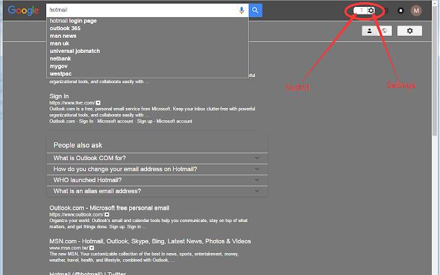Ночной режим для Google Search™