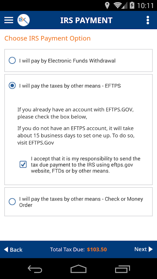 ExpressTruckTax: 2290 E-filing- screenshot