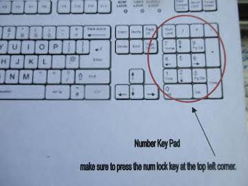 Keyboard Shortcuts that help when writing recipes.