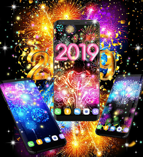 Happy new year 2020 live wallpaper 13.8 screenshots 10