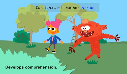 Hey Monster! German for Kids 1.2 screenshots 5